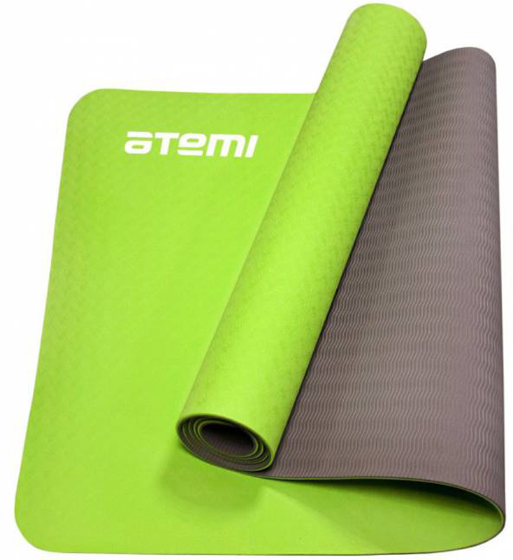 Коврик для йоги и фитнеса Atemi, цвет: зеленый, 61 х 173 смAYM-01TPEКоврик для йоги и фитнеса Atemi выполнен из TPE (Thermo Plast Elastomer). Экологически безопасный, не имеет запаха, приятен на ощупь. Достоинства: небольшой вес, упругость, гигиеничность, хорошее сцепление с поверхностью. Двухцветный, что делает занятия более удобными.Йога: все, что нужно начинающим и опытным практикам. Статья OZON Гид
