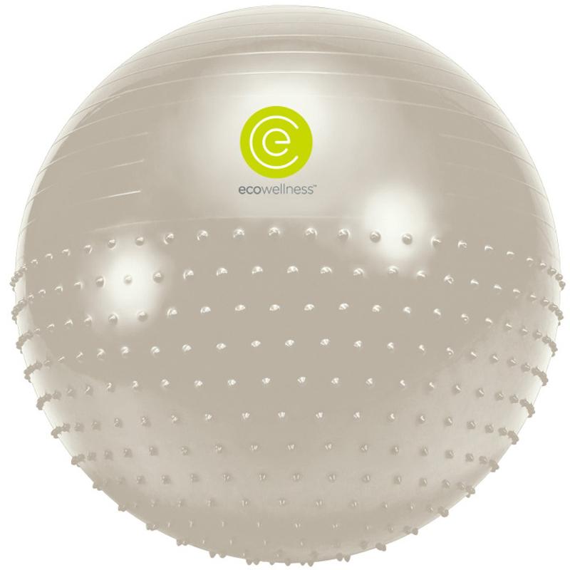 Мяч гимнастический Ecowellness, цвет: серый, зеленый, диаметр 65 смQB-010TAG3-26VVМяч гимнастическийEcowellness выполнен из ПВХ, поставляется с ручным насосом.Йога: все, что нужно начинающим и опытным практикам. Статья OZON Гид