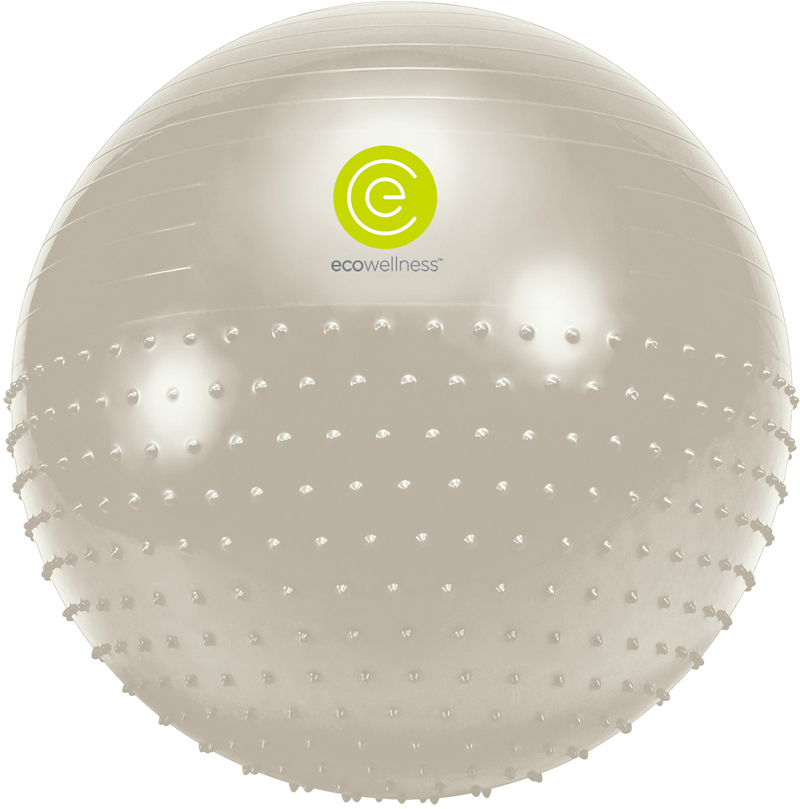 Мяч гимнастический Ecowellness, цвет: серый, зеленый, диаметр 75 смQB-010TAG3-30VVМяч гимнастическийEcowellness выполнен из ПВХ, поставляется с ручным насосом.Йога: все, что нужно начинающим и опытным практикам. Статья OZON Гид