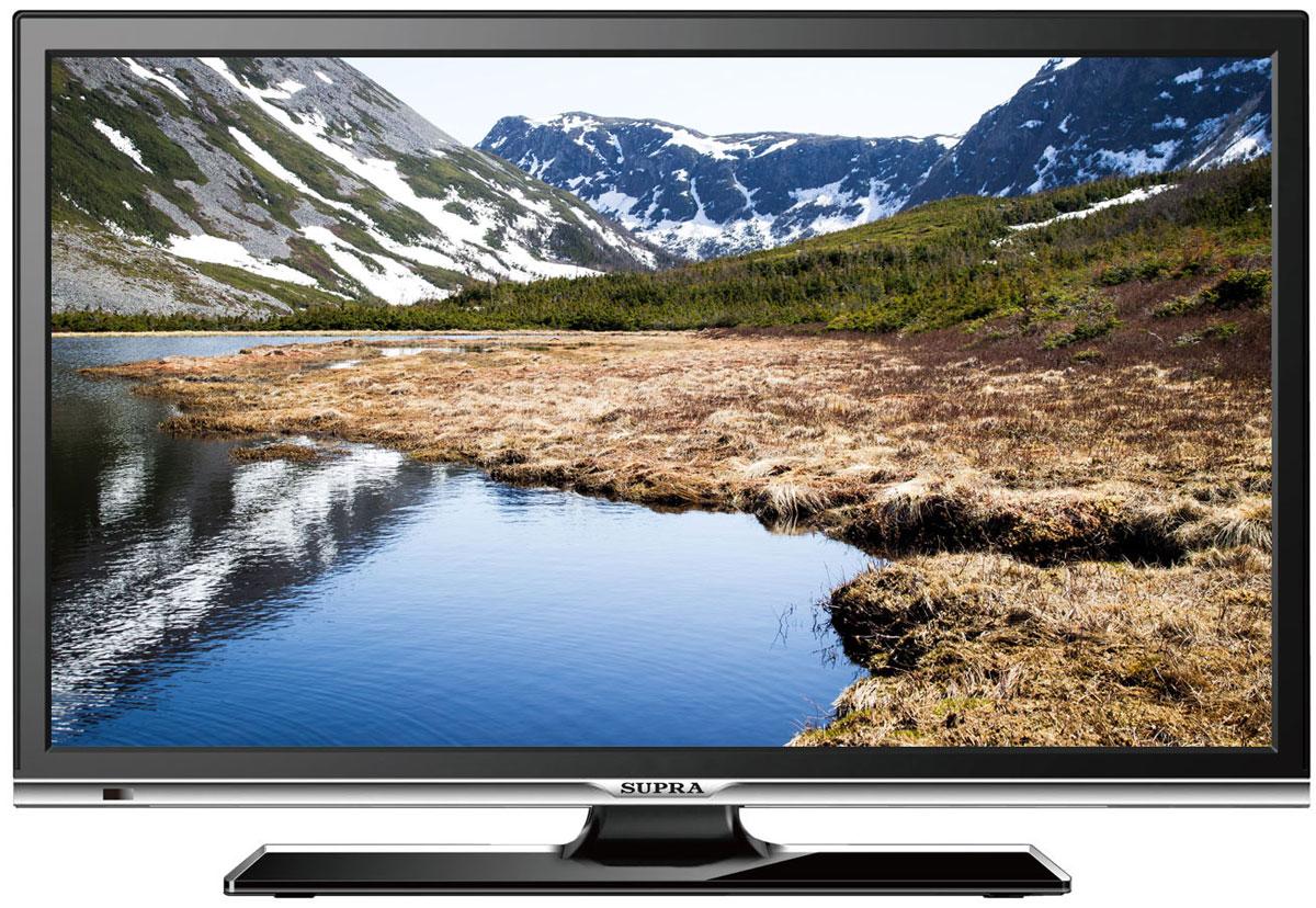 Supra STV-LC22LT0010F, Black телевизор телевизор supra stv lc32lt0011w
