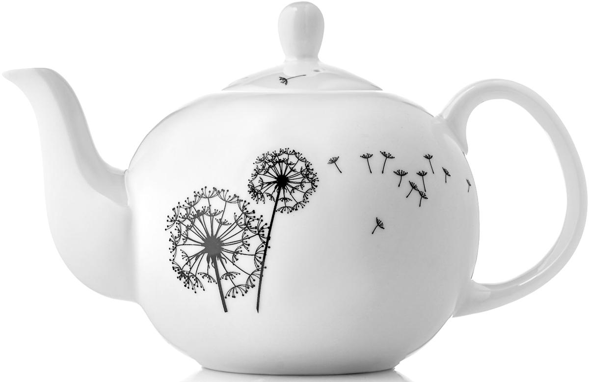 Чайник заварочный Esprado Viente, 1,22 лVNTL13BE306Заварочный чайник Viente изготовлен из фарфора и создан для тех, кто выбирает монохромное цветовое решение или минимальное количество цветов, яркие контрастные линии и четкую законченность образа. Чайник круглой формы очень практичен: его легко очищать, чаинки не забиваются в отверстия. Кроме того, благодаря округлому силуэту чайник стал более изящным и подойдет как для чаепития в кругу семьи, так и для торжественного случая.Изделия из фарфора можно использовать в микроволновой печи, мыть в посудомоечной машине.
