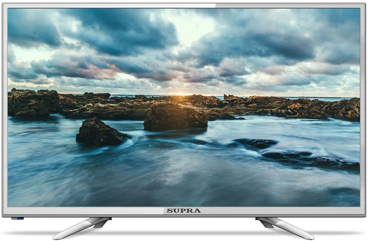 Supra STV-LC24LT0011W, Silver телевизор led телевизор supra stv lc22lt0020f