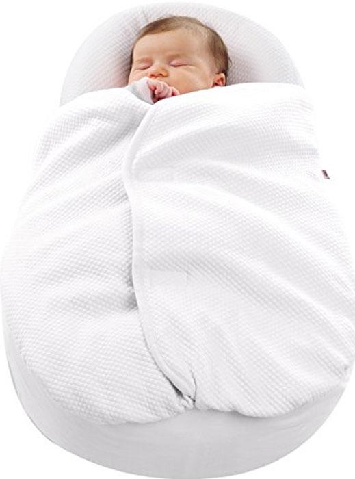 Red Castle Одеяло для эргономичного кокона Cocoonababy Cocoonacover Ouat Fdc Blanc0449166Благодаря новому одеялу, специально разработанному для эргономичного кокона Cocoonababy®, малышу всегда будет тепло и уютно.Нежный хлопок Fleur de Coton® дружелюбен к коже ребенка. Форма одеяла повторяет формы кокона и застегивается на груди, маме больше не стоит беспокоится, что кроха натянет его на лицо.