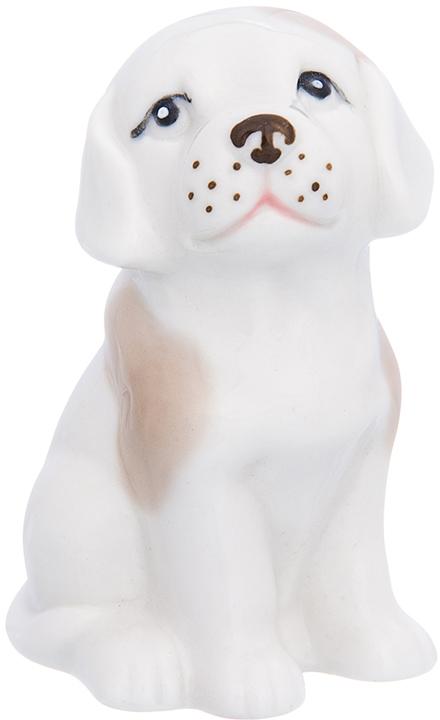 Фигурка декоративная Elan Gallery Лабрадор, цвет: белый, бежевый, 5 х 6 х 9 см870215Декоративная фигурка Собака станет прекрасным дополнением вашего интерьера, а также отличным подарком в наступающем 2018 году, символом которого является по восточному (китайскому) календарю – Желтая Земляная Собака, которая весь год будет на страже Вашего благополучия.