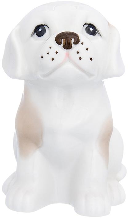 Фигурка декоративная Elan Gallery Лабрадор, цвет: белый, бежевый, 8,5 х 10 х 13 см870220Декоративная фигурка Собака станет прекрасным дополнением вашего интерьера, а также отличным подарком в наступающем 2018 году, символом которого является по восточному (китайскому) календарю – Желтая Земляная Собака, которая весь год будет на страже Вашего благополучия.