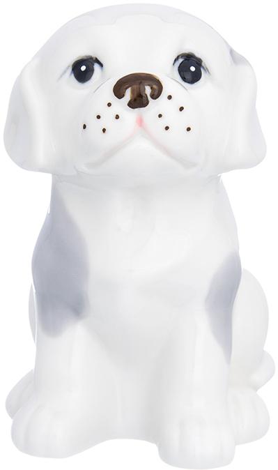 Фигурка декоративная Elan Gallery Лабрадор, цвет: белый, серый, 8,5 х 10 х 13 см870221Декоративная фигурка Собака станет прекрасным дополнением вашего интерьера, а также отличным подарком в наступающем 2018 году, символом которого является по восточному (китайскому) календарю – Желтая Земляная Собака, которая весь год будет на страже Вашего благополучия.