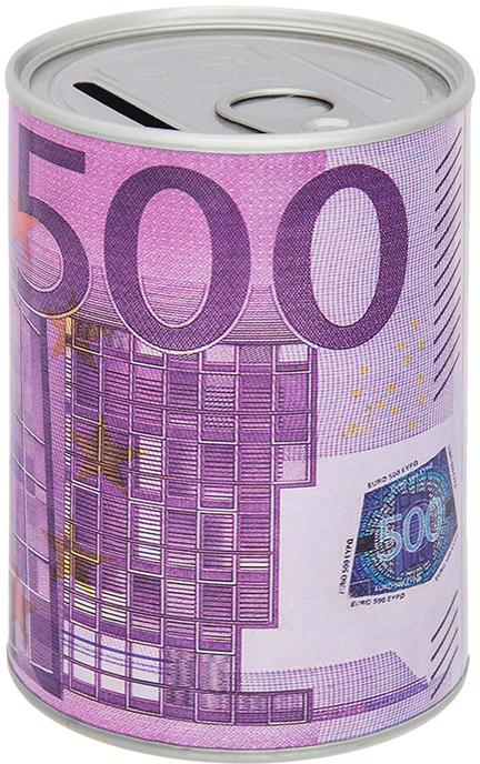 Копилка Elan Gallery Евро, цвет: сиреневый, 7,6 х 7,6 х 11 см980033Оригинальная копилка банка Евро выполнена из металла в виде металлической банки. Сверху имеется прорезь для монет. Накопленные деньги можно достать, открыв крышку.Такая копилка станет отличным подарком с пожеланием финансового благополучия и успехов в бизнесе.