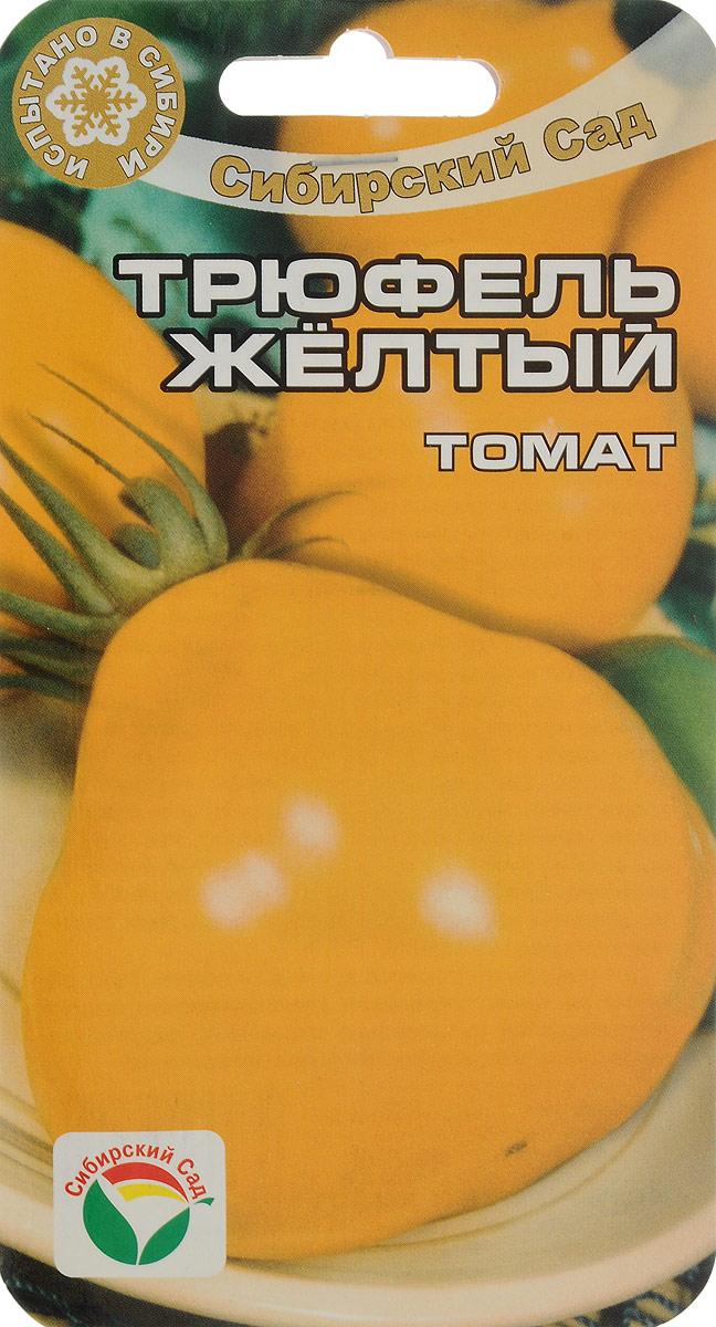 Семена Сибирский сад Томат. Трюфель желтый7930041232029Популярный засолочный сорт для открытого грунта и плёночных теплиц. Высота растения 90-170 см, плоды красивой грушевидной формы, слаборебристые, желто- оранжевой окраски, очень плотные, массой 90-150 г. Используются в свежем виде, особенно хороши для засолки и цельноплодного консервирования.Достоинства сорта: оригинальная форма и окраска плодов, хорошая лежкость, замечательное качество консервированной продукции, довольно высокая устойчивость к болезням, хорошая завязываемость плодов в различных условиях.При высадке в грунт на 1 кв.м высаживают не более 3-х растений. Для ускорения процесса всхожести семян, оздоровления растений, улучшения завязываемости плодов рекомендуется пользоваться специально разработанными стимуляторами роста и развития растений.Уважаемые клиенты! Обращаем ваше внимание на то, что упаковка может иметь несколько видов дизайна. Поставка осуществляется в зависимости от наличия на складе.