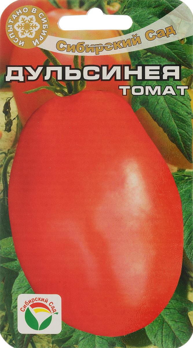 Семена Сибирский сад Томат. Дульсинея7930041230674Красивый среднеспелый сорт с крупными малиновыми плодами в форме вытянутой груши. Растение высокорослое (до 1,6 м). Первая кисть закладывается над 7 листом, последующие через 3 листа. В каждом соцветии завязывается до 4-6 мясистых, крупных (до 150-250, а отдельные экземпляры - до 350 г) малиновых плодов с нежной ароматной мякотью. Благодаря гармоничному сочетанию кислот и сахаров, томаты имеют очень приятный вкус. Сорт универсального назначения. Пригоден для употребления в свежем виде и в домашней кулинарии. Сорт предназначен для выращивания в теплицах и под временными укрытиями. При высадке в грунт на 1 кв.м размещают 3 растения. Выращивают в 1-2 стебля с подвязкой к опоре.Уважаемые клиенты! Обращаем ваше внимание на то, что упаковка может иметь несколько видов дизайна. Поставка осуществляется в зависимости от наличия на складе.