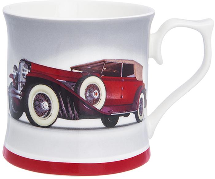 Кружка Elan Gallery Ролс-ройс красный, 380 мл230143Кружка классической формы объемом 380 мл с удобной ручкой. Подходит для любых горячих и холодных напитков: чая, кофе, какао. Изделие имеет подарочную упаковку, поэтому станет желанным подарком для ваших близких!