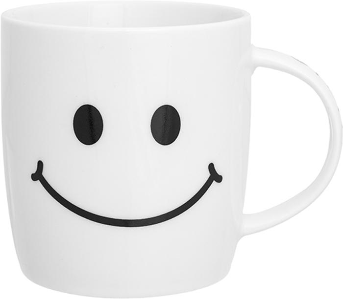 Кружка Elan Gallery Утренняя улыбка, 350 мл230170Кружка классической формы объемом 350 мл с удобной ручкой. Подходит для любых горячих и холодных напитков: чая, кофе, какао. Изделие имеет подарочную упаковку, поэтому станет желанным подарком для ваших близких!