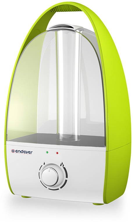Endever Oasis 185, White Green ультразвуковой увлажнитель воздуха - Увлажнители воздуха