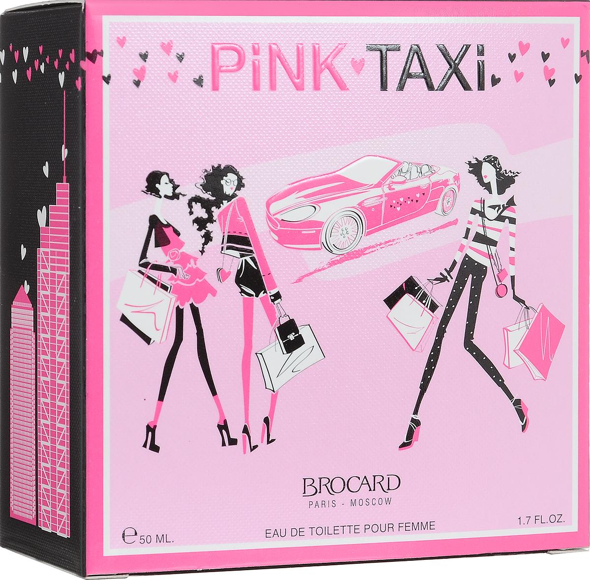 Brocard Pink Taxi Туалетная вода для женщин, 50 мл375508Утонченный, свеже-цветочно-фруктовый, нежный и упоительный.Верхние ноты: земляника, красная смородина, цитрус, красное яблоко, Сердце: жасмин, сладкий горошек, роза, фрезия, Базовые ноты: амбра, сандал, малина, мускус.Уважаемые клиенты! Обращаем ваше внимание на то, что упаковка может иметь несколько видов дизайна. Поставка осуществляется в зависимости от наличия на складе.