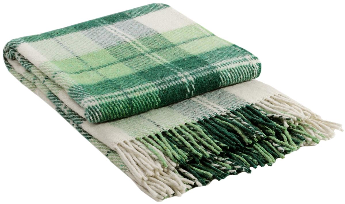 Плед Vladi Эльф, цвет: белый, салатовый, зеленый, 200 х 220 см00231Коллекция пледов Эльф самая обширная в нашем ассортименте – она представлена в более чем в 50-ти разнообразных расцветках. Классическая шотландская клетка на любой вкус, качественная натуральная шерсть и практичность пледов Эльф доставят Вам не только эстетическое удовольствие, но и принесут пользу своим теплом в холодное время года.
