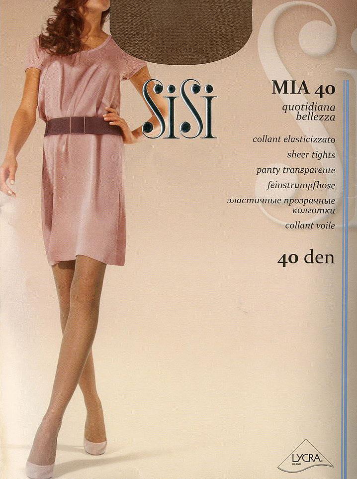 Колготки Sisi Mia 40, цвет: Daino (коричневый). Размер 5 колготки sisi mia размер 4 плотность 40 den daino