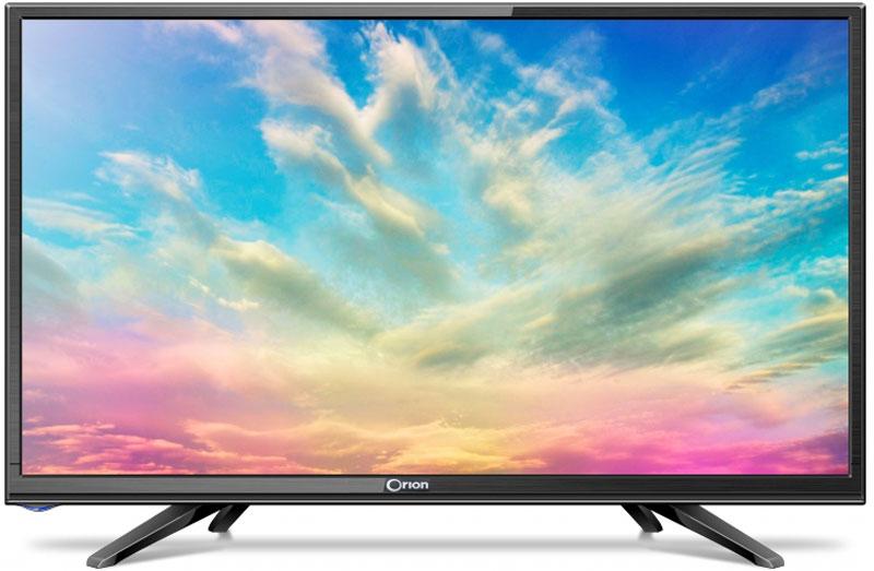 Orion ПТ-50ЖК-100ЦТ, Black телевизор11648Orion ПТ-50ЖК-100ЦТ - это многофункциональный телевизор, обладающий отличным качеством изображения. LED-подсветка обеспечивает четкость и яркость изображения, а экран обладает разрешением 1366x768пикселей, яркостью 200 кд/м2, динамической контрастностью 60000:1 и широким углом обзора (170°).Телевизор имеет функцию телетекста, таймер сна и защиту от детей. Мощность звучания аудиосистемысоставляет 6 Вт, также поддерживаются телевизионные стандарты DVB-T2/C. Телевизор оборудован USB- портом и HDMI-входом.