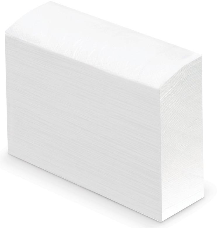 Полотенце бумажное Лайма Люкс, цвет: белый, 190 листов полотенца бумажные лайма люкс двухслойные 200 листов 20 упаковок