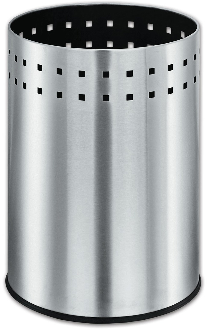 Корзина для мусора Лайма Bionic, несгораемая, 12 л232268Металлическая несгораемая корзина для мусора Лайма Bionic идеально подойдет для любого вида помещений, будь то офис, предприятие торговли, производственное предприятие, учреждение здравоохранения и образования. Изготовлена из высококачественной нержавеющей стали.