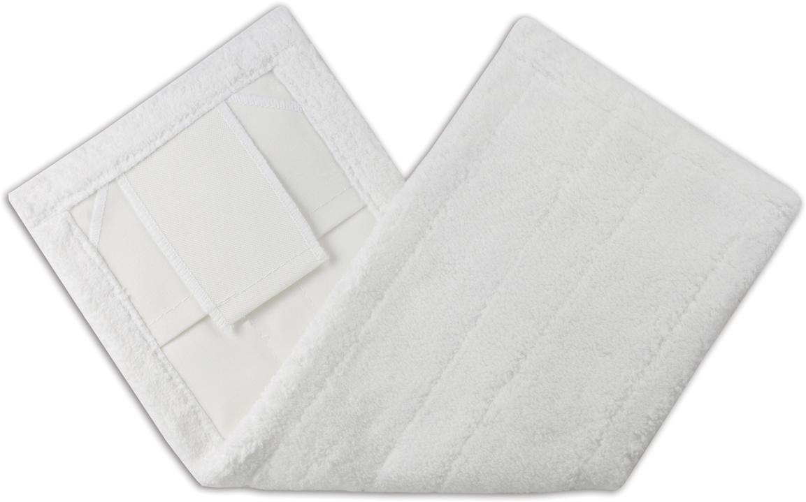 Насадка для швабры Лайма Моп, цвет: белый, 42 х 10 см601479Насадка для швабры Лайма предназначена для проведения влажной и сухой уборки. Используется в комплекте с держателем и ручкой, крепится с помощью ушек или карманов. Насадка изготовлена из микрофибры - материала с лучшими впитывающими и моющими свойствами.