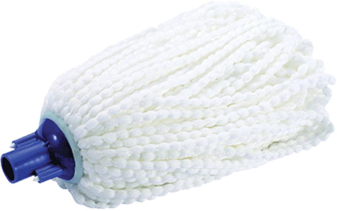 Насадка для швабры Лайма Моп, веревочная, для влажной уборки, цвет: белый, синий, 24 см printhead 990 a3 print head for brother mfc 5890c mfc 6490cw 6490dw mfc 6690c