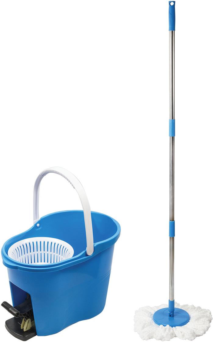 Набор для уборки  Лайма , цвет: голубой, 4 предмета -  Инвентарь для уборки