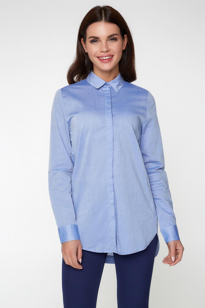 Блузка женская Bestia Coco_b, цвет: голубой. 40010260007_400. Размер 42 блузка женская bestia wabbag