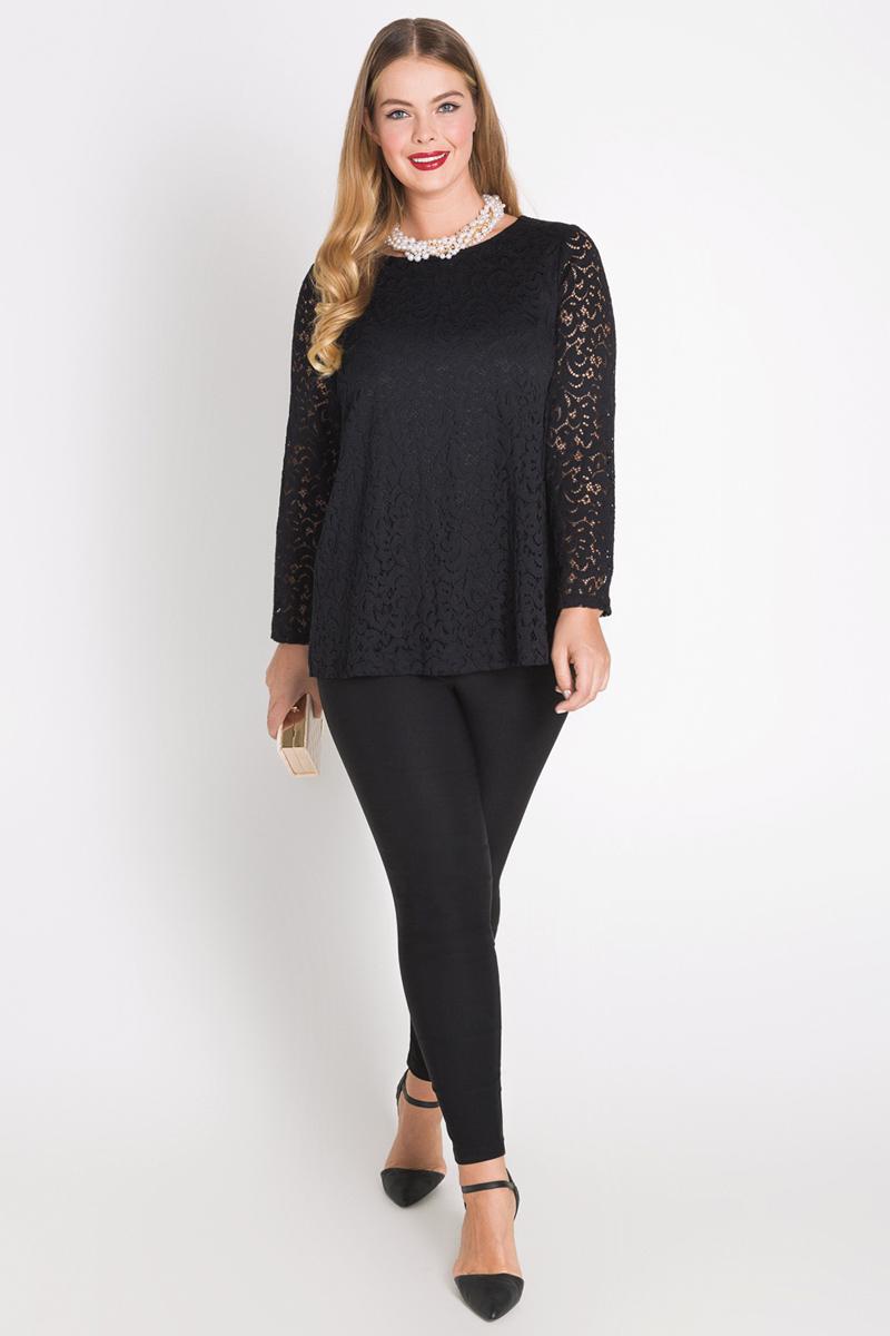 Блузка женская Bestia Donna Boigu_w, цвет: черный. 41200260078_100. Размер 5041200260078_100