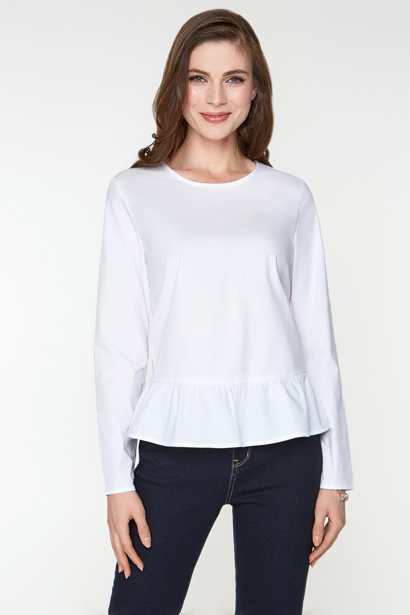 Блузка женская Bestia Hoskins_b, цвет: белый. 40200260151_200. Размер M (46) bestia ожерелье