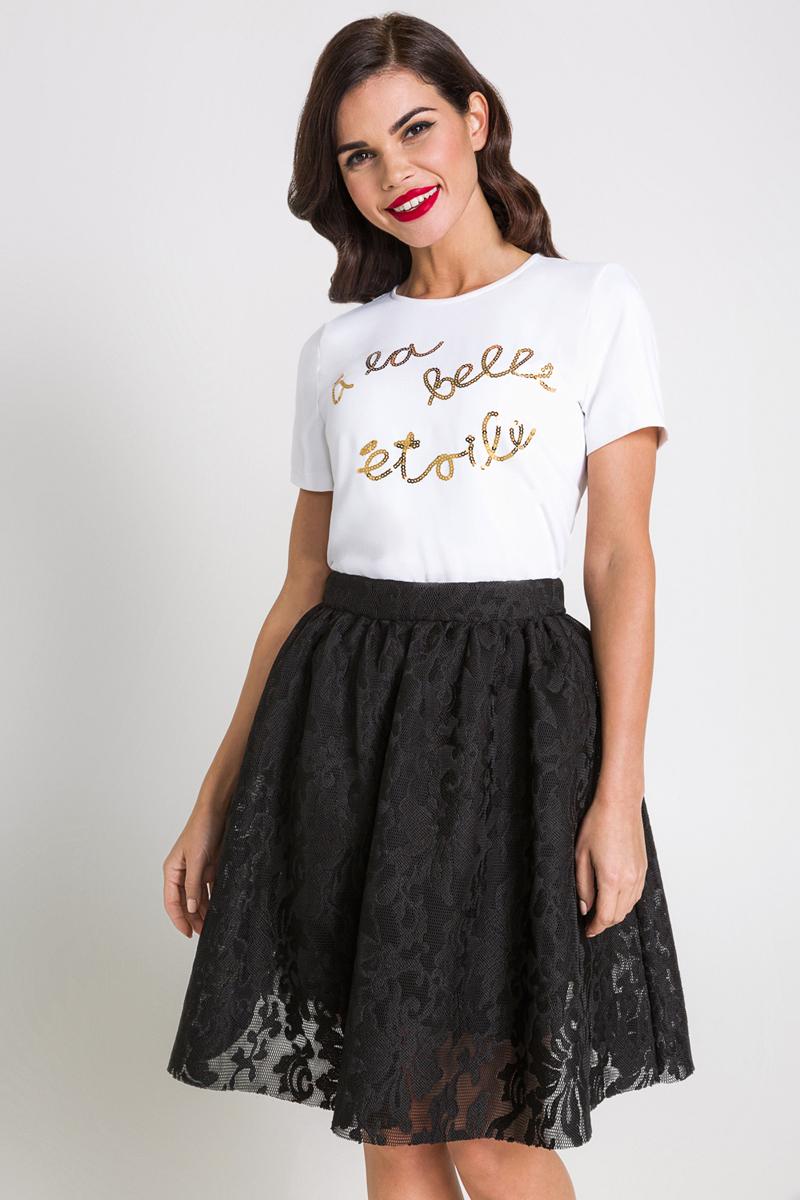 Блузка женская Bestia Western_b, цвет: белый. 40200270071_200. Размер XL (50) платье bestia цвет коричневый