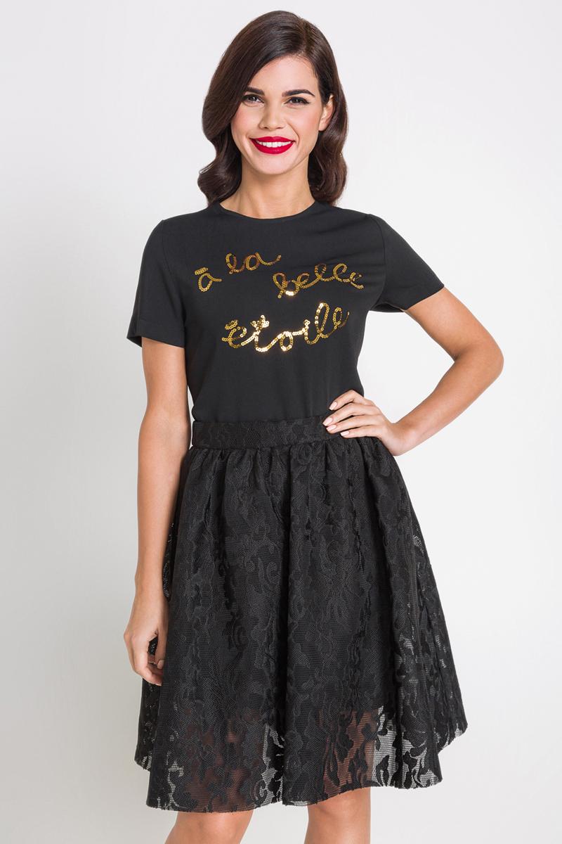Блузка женская Bestia Western_b, цвет: черный. 40200270071_100. Размер S (44) платье bestia цвет коричневый