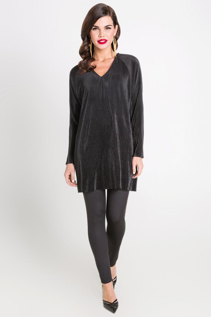 Блузка женская Bestia Woodlark_b, цвет: черный. 40200260114_100. Размер  (44)