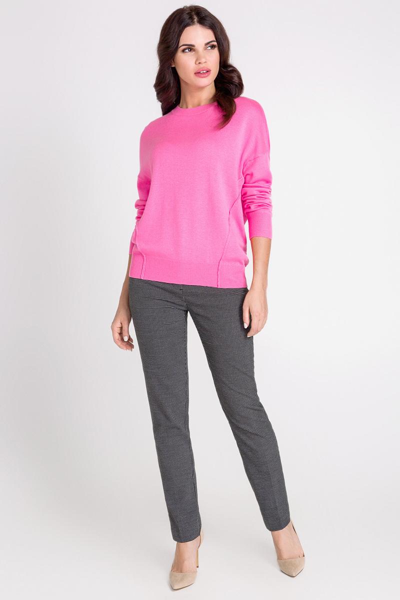 Джемпер женский Bestia Gum_b, цвет: розовый. 40200310053_1400. Размер L (48)