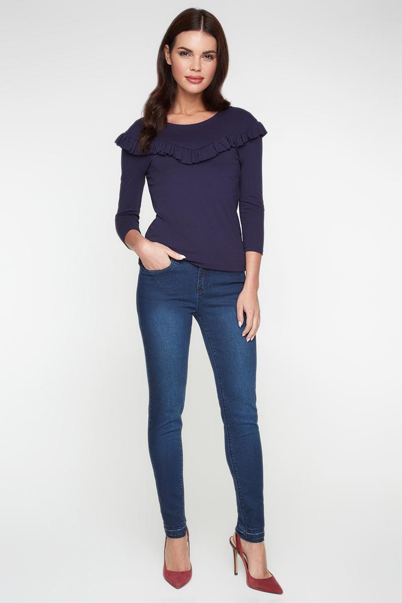 Джемпер женский Bestia Racurs_b, цвет: темно-синий. 40010100001_600. Размер 48 брюки bestia bestia be032ewlin67