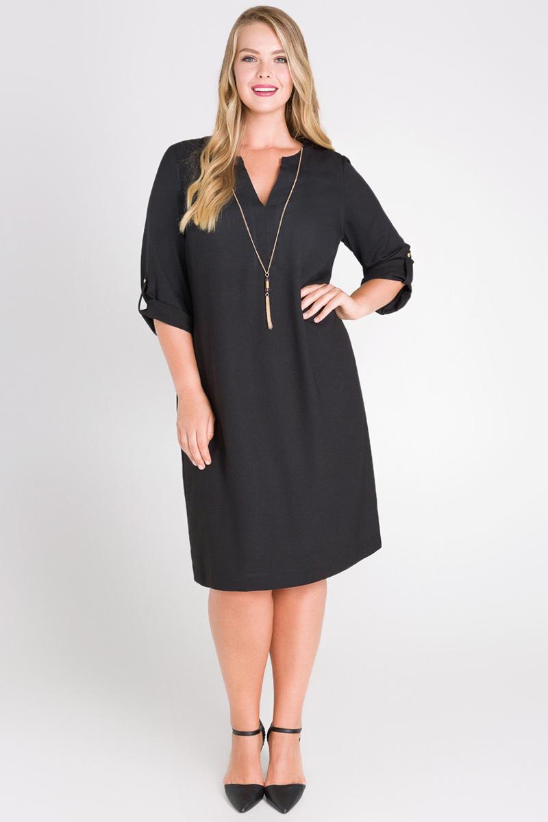 цена Платье Bestia Donna Ninigo_w, цвет: черный. 41200200097_100. Размер 50 онлайн в 2017 году