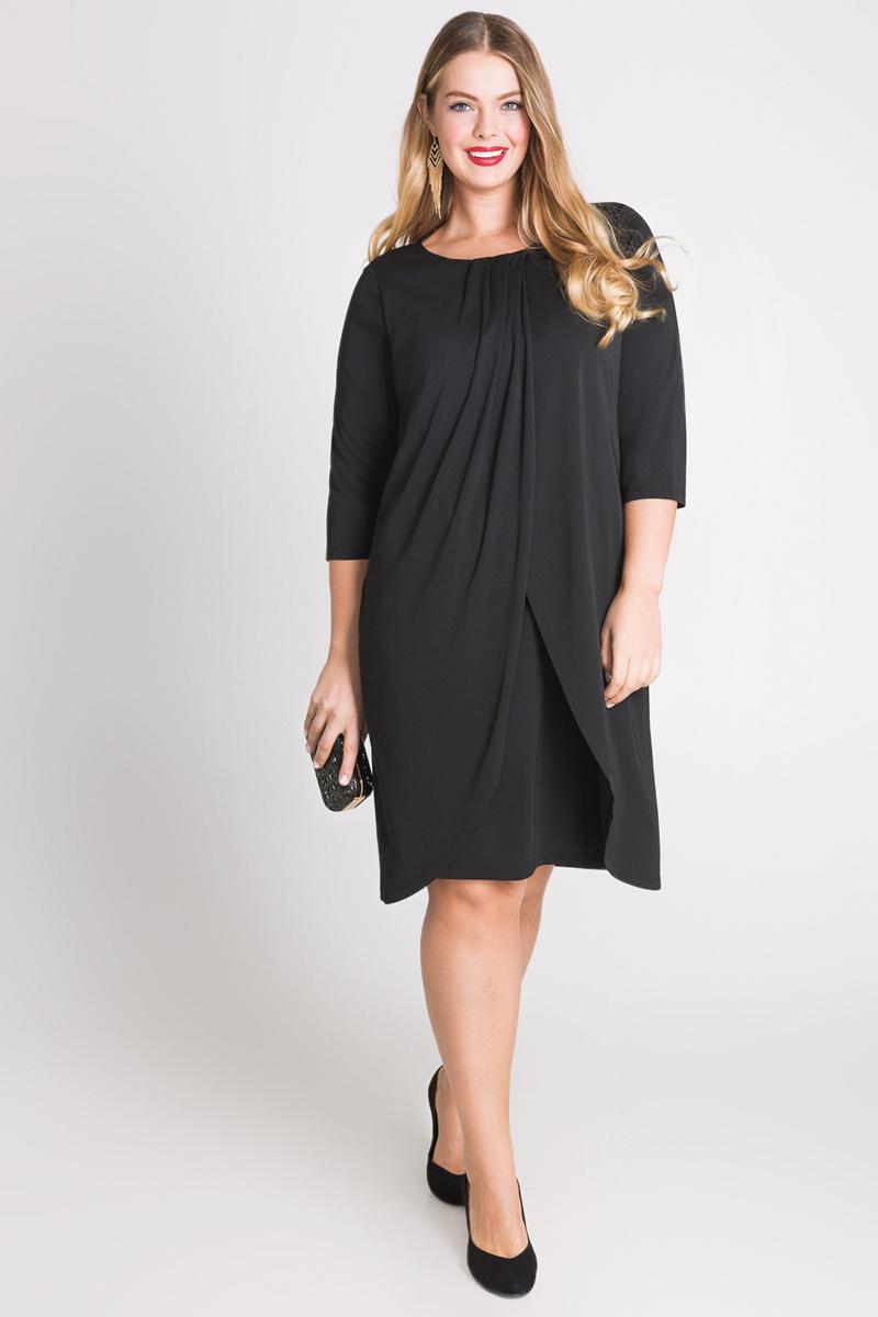 Платье Bestia Donna Ontario_w, цвет: черный. 41200200101_100. Размер 56 размерная сетка bestia