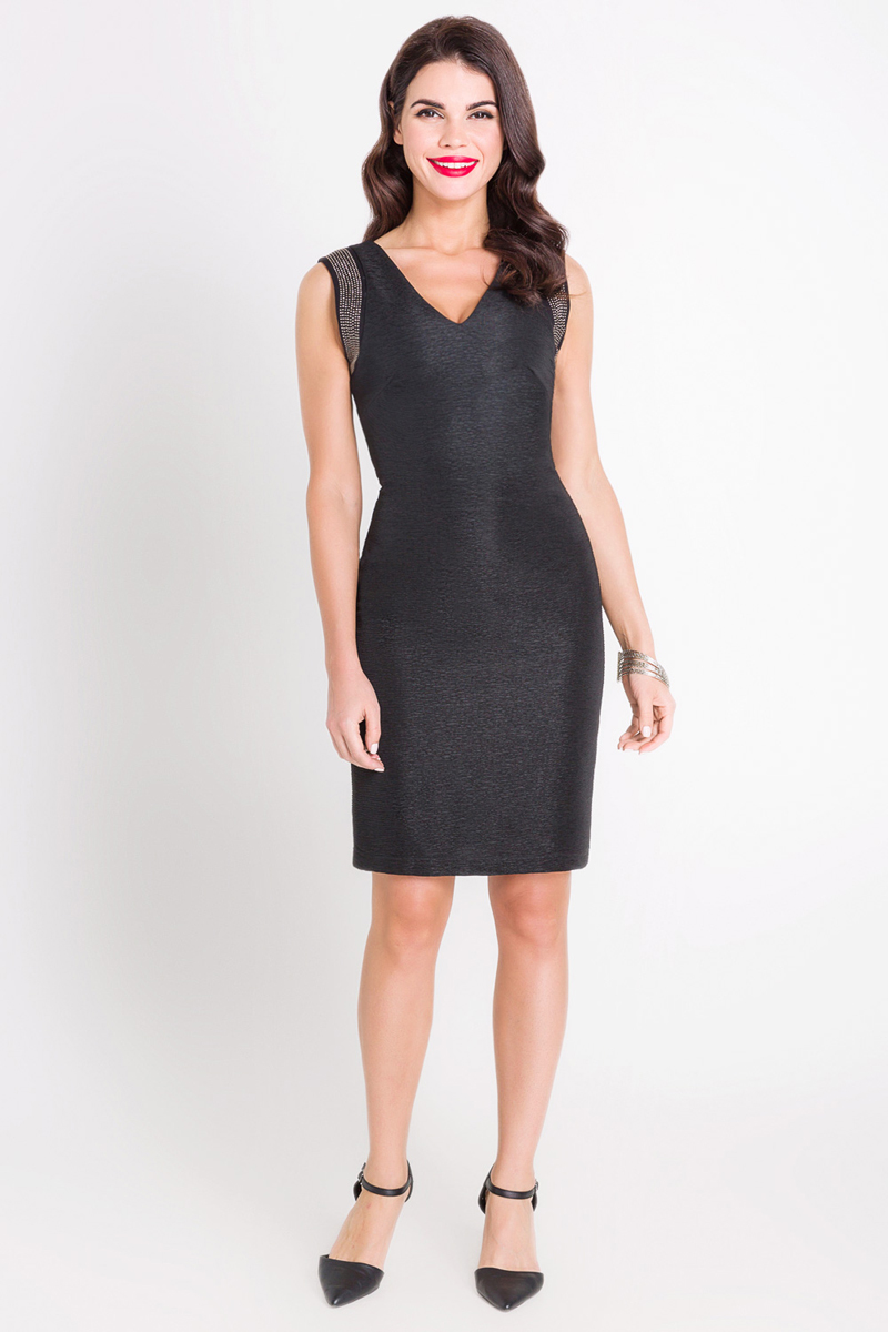 """Платье Bestia Hennessy_b, цвет: черный. 40200200221_100. Размер L (48) ã±â""""ã±âƒã±â'ã°â±ã°â¾ã° ã°âºã°â° bestia ã±â""""ã±âƒã±â'ã°â±ã°â¾ã° ã°âºã°â°"""