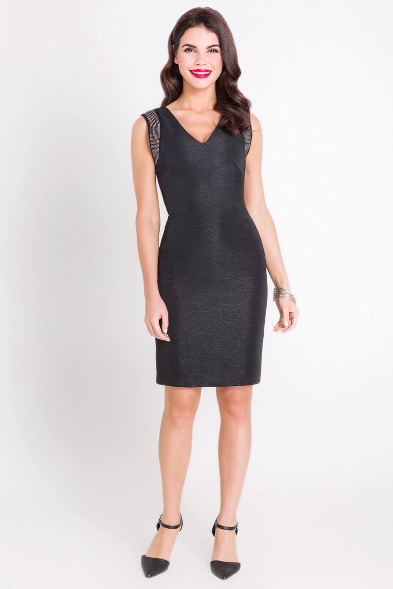 Платье Bestia Hennessy_b, цвет: черный. 40200200221_100. Размер M (46) брюки bestia bestia be032ewlin67