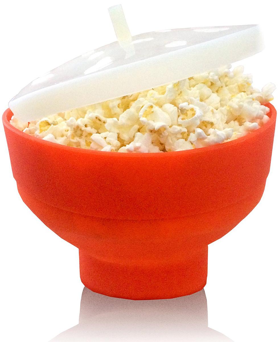 Стакан для приготовления попкорна FidgetGo, с крышкой, цвет: красный, 20 х 20 х 14,5 см1687476_красныйДелать попкорн дома теперь проще простого со специальной формой для приготовления попкорна FidgetGo! Пара минут - и большой стакан горячего, ароматного и свежего попкорна уже у вас в руках! Насладитесь вкусом приготовленной на пару домашней и питательной воздушной кукурузы и попробуйте разные рецепты, чтобы она получилась еще оригинальной.В комплект входит силиконовая крышка.