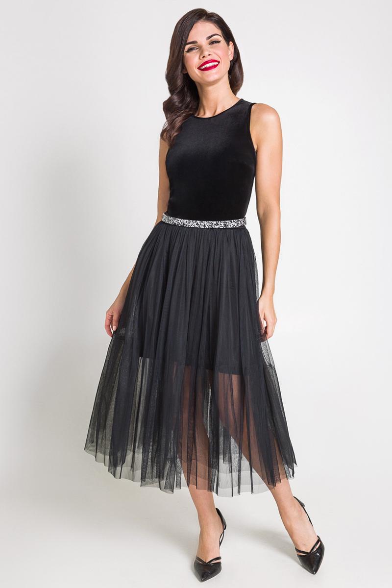 Платье Bestia Karolina_b, цвет: черный. 40200200227_100. Размер XL (50) футболка bestia футболка