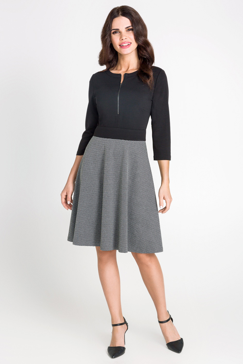 "Платье Bestia Larnaca_b, цвет: черный. 40200200211_100. Размер L (48) ã±â""ã±âƒã±â'ã°â±ã°â¾ã° ã°âºã°â° bestia ã±â""ã±âƒã±â'ã°â±ã°â¾ã° ã°âºã°â°"