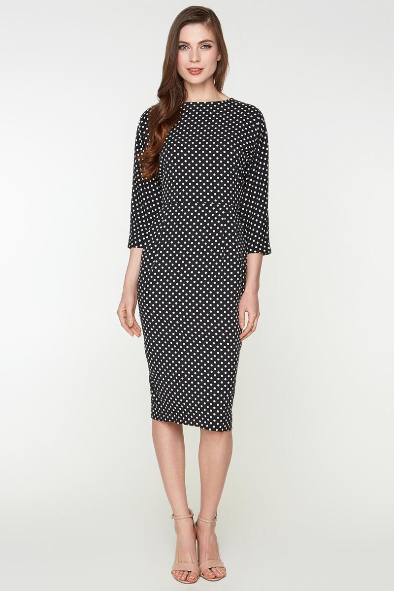 Платье Bestia Lazo_b, цвет: черный. 40200200302_100. Размер L (48) платье bestia цвет коричневый