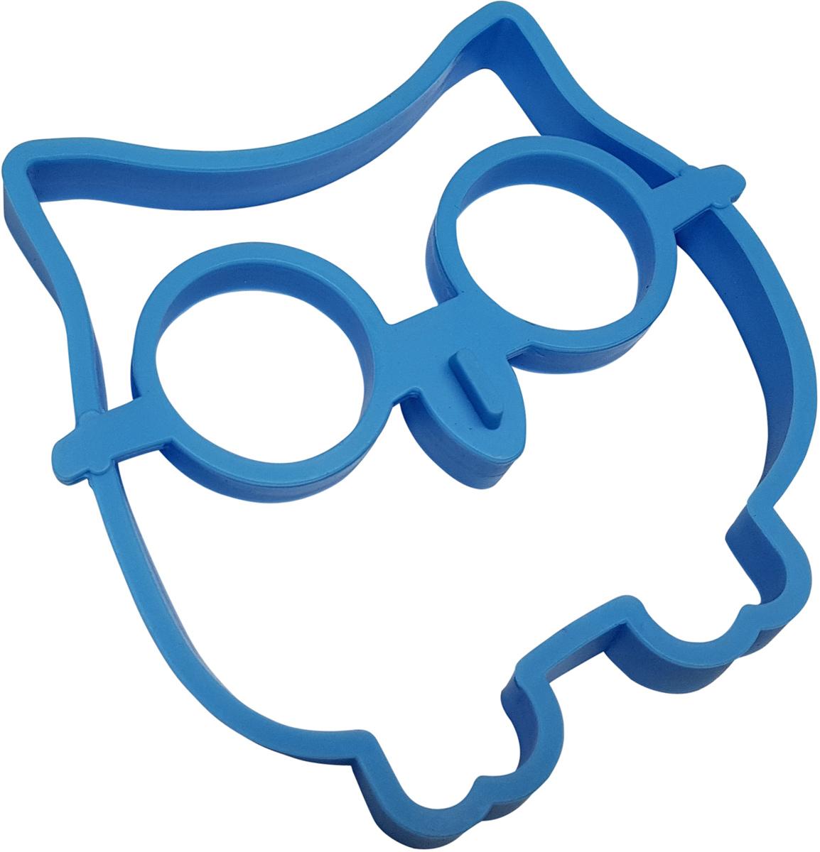 Форма для яичницы FidgetGo Сова, цвет: голубой, 12 х 12,5 х 1,7 см2212345678977Начните утро своего ребенка с веселого завтрака. Ваши дети будут снова и снова ждать его с нетерпением.Продовольственная, безопасная для посудомоечной машины силиконовая формы в виде Совы.Промыть перед первым использованием.