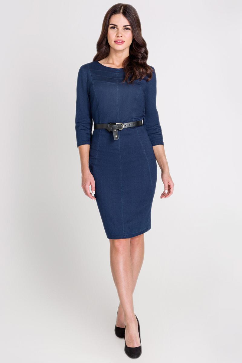 Платье Bestia Molly_B, цвет: темно-синий. 40200200205_600. Размер S (44) платье bestia цвет коричневый