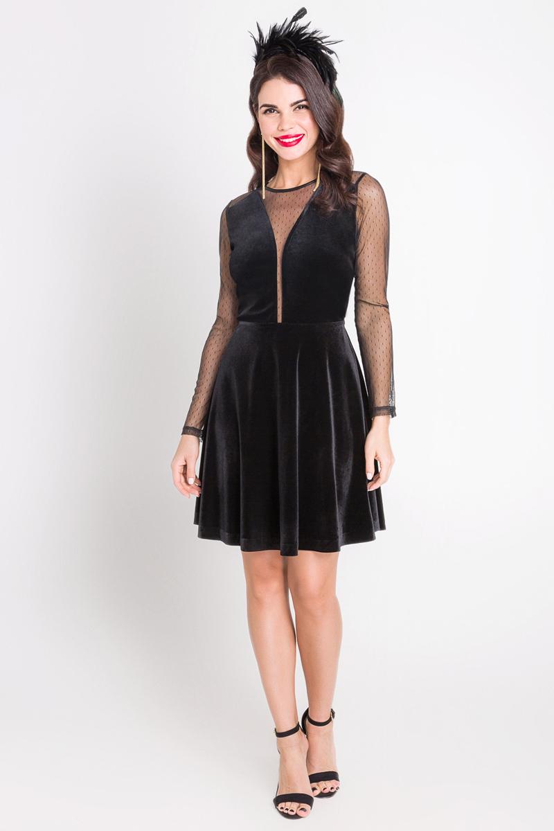 Платье Bestia Primavera_b, цвет: черный. 40200200222_100. Размер L (48) блуза bestia bestia be032ewmth50