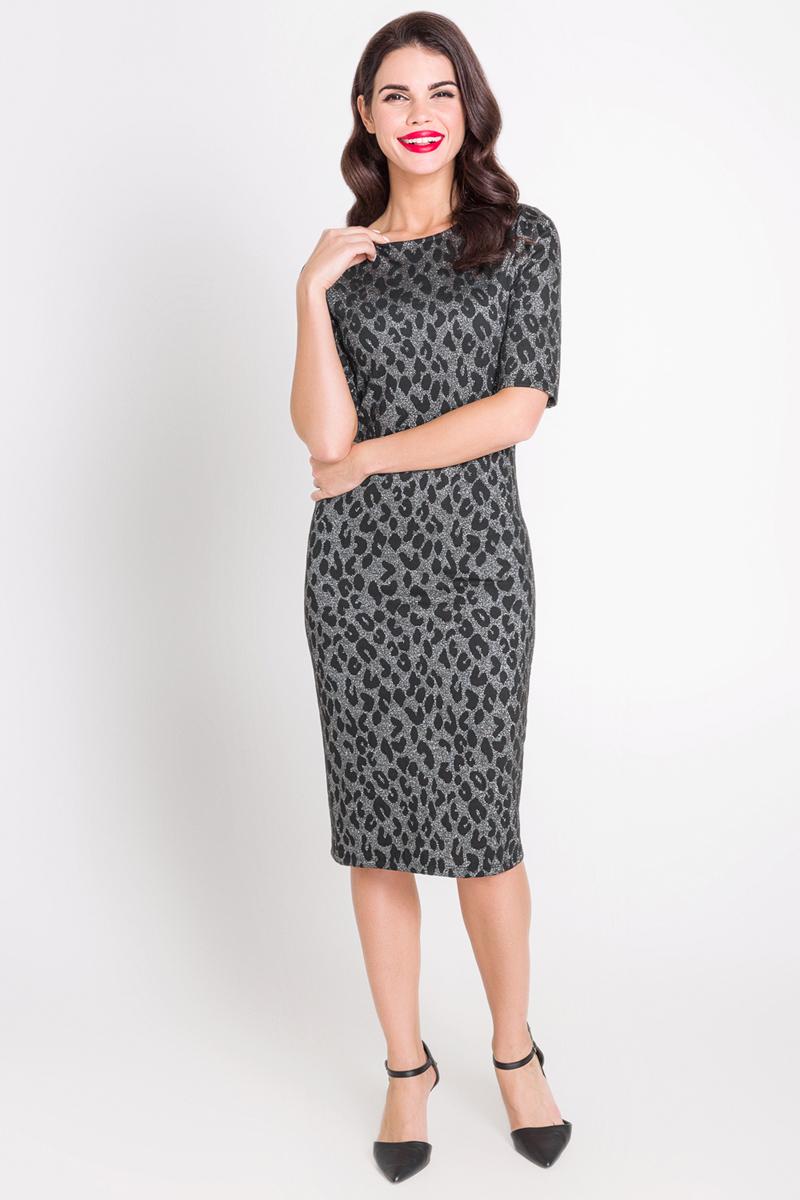 Платье Bestia Santana_b, цвет: серебряный. 40200200223_3700. Размер S (44) bestia be032dwove75 bestia