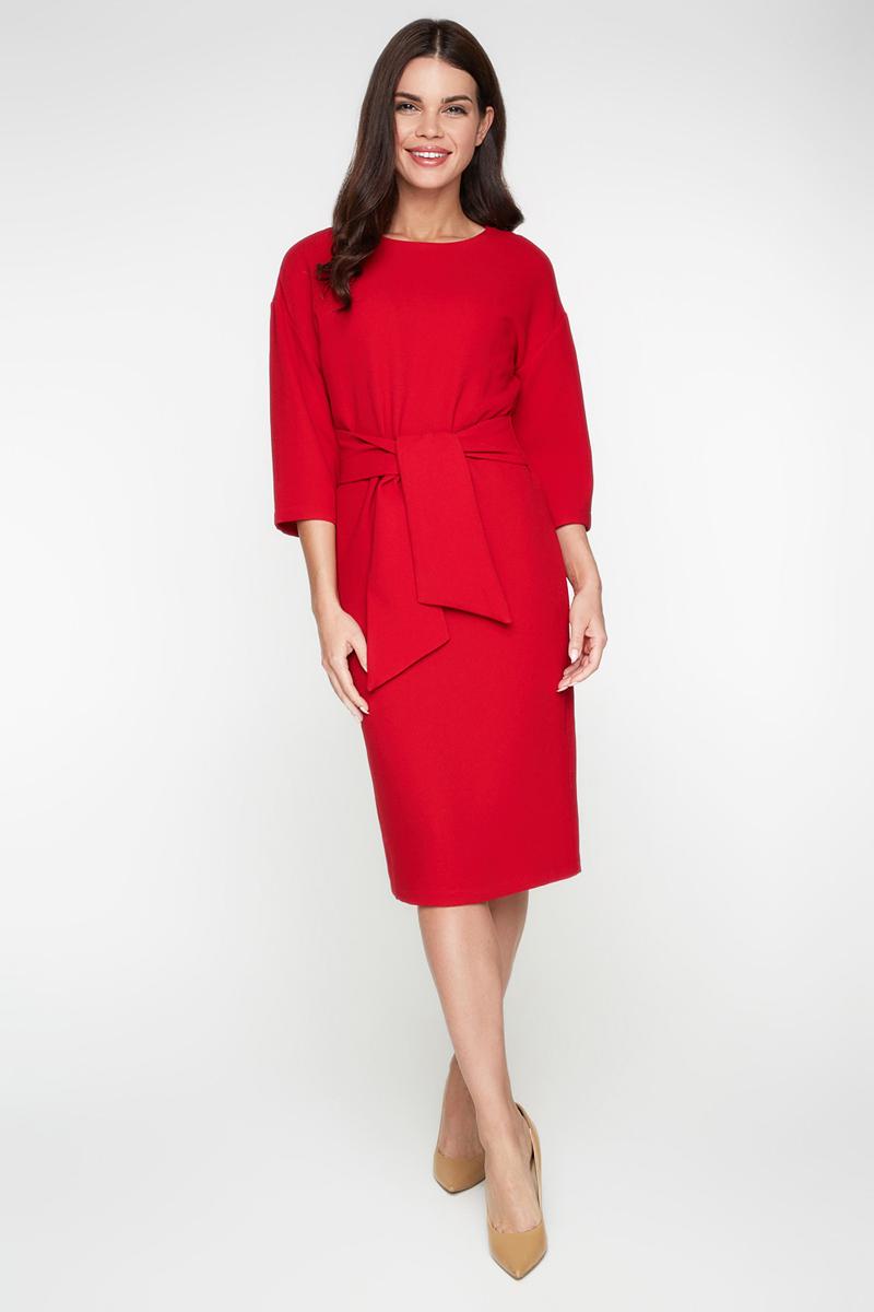 Платье Bestia Volga_b, цвет: красный. 40010200010_1500. Размер 44 bestia be032ewwmz51 bestia