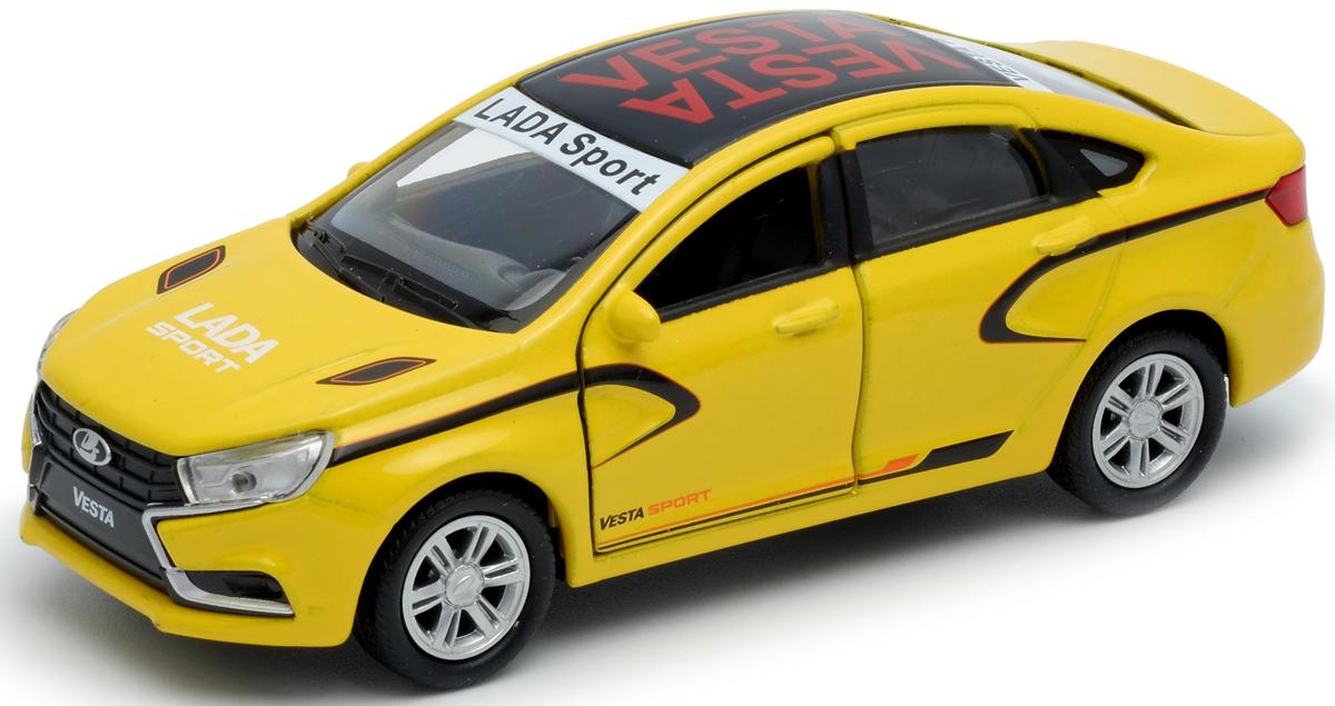 Welly Машинка LADA Vesta sport куплю автозапчасти двер б у lada 2110
