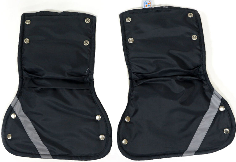 Топотушки Варежки для коляски цвет черный