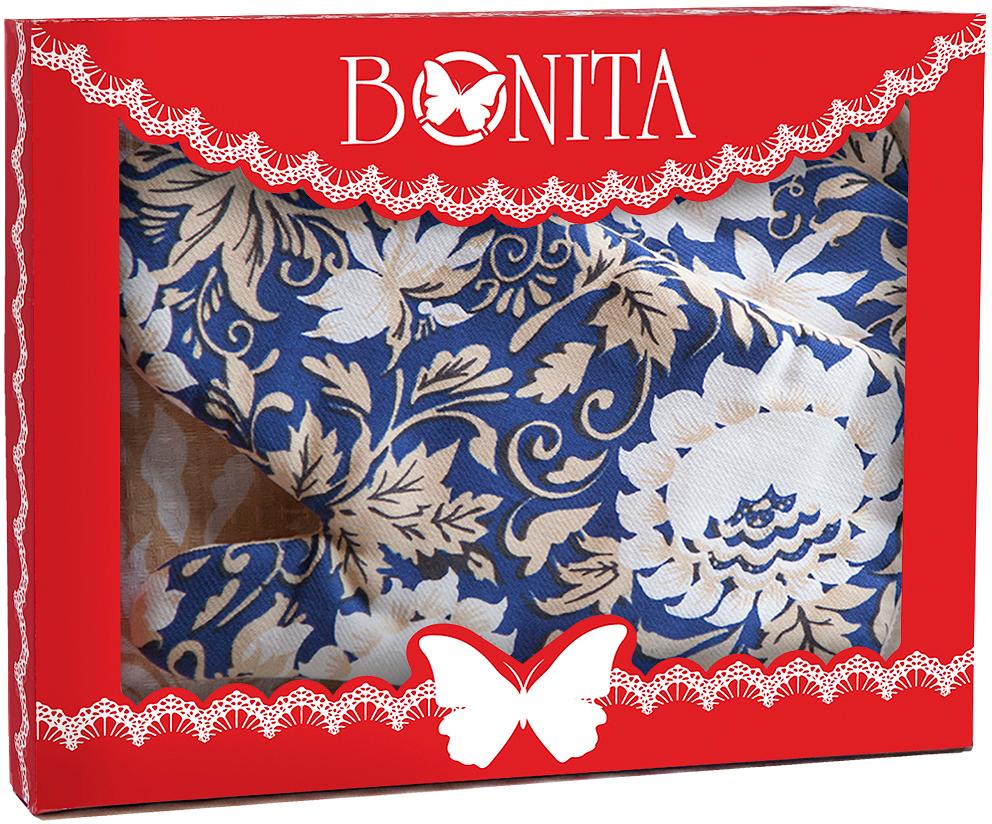 Подарочный набор для кухни Bonita Белые Росы, 3 предмета рукавицы прихватки фартуки arya набор рукавица прихватка rana цвет зеленый