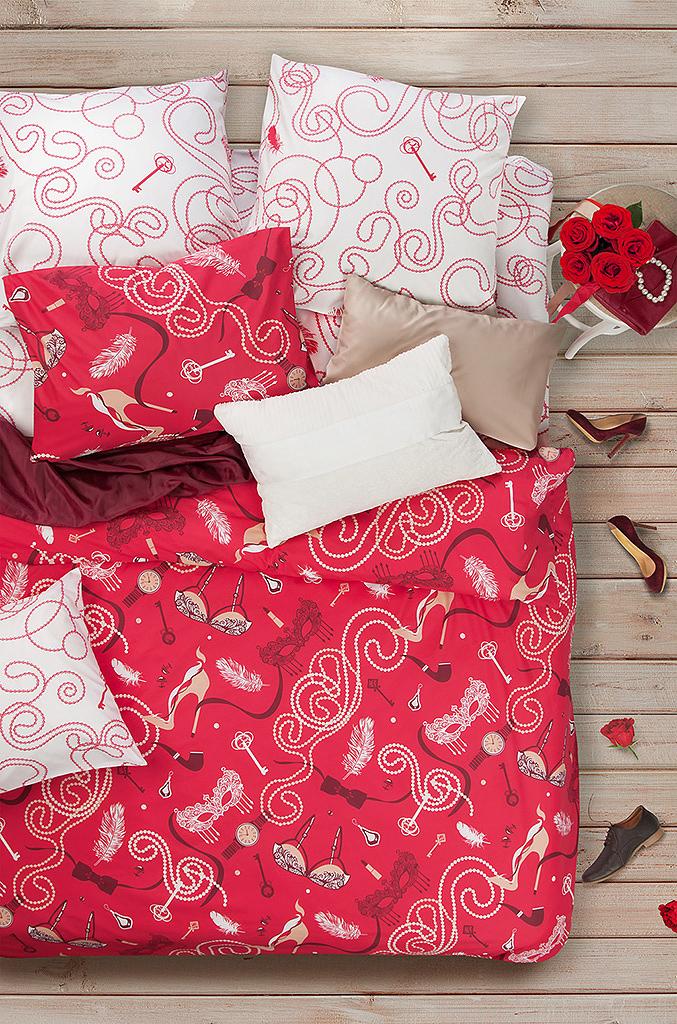 Комплект белья Sova & Javoronok Будуар, семейный, наволочки 70x70. 2030816804 комплект семейного белья василиса нежная роза 4172 1 70x70 c рб